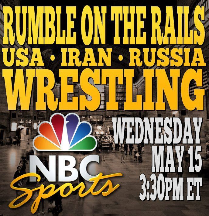 """The U.S., Iranian, and Russian wrestling teams are set to square-off Wednesday at New York's historic Grand Central Station for """"The Rumble on the Rails,"""" in hopes that their competitive cooperation can save their beloved sport from being removed from the 2020 Olympic Games."""