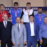 Büyük Erkekler Türkiye Şampiyonası  -Samsun madalya ilk gün