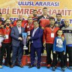 Vehbi Emre 2. gün Türkiye Şampiyon..