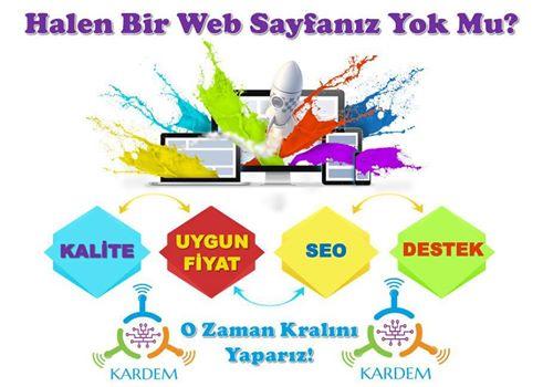 Guresiyorum.com' un da dizaynını ve web tasarımını üstlenen oğlum Atakan Karataş'ın kurmuş olduğu Kardem Web Tasarım ve İçerik Hizmetlerini sizlere tavsiye ederim.