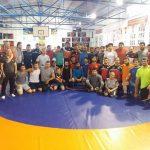 Grekoromen Güreş A ve U23 Kampı Sarıyerde başladı