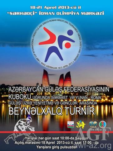 serbest Genç Azerbeycan Federasyon kupası son gün madalya..Türkiye 3. oldu..