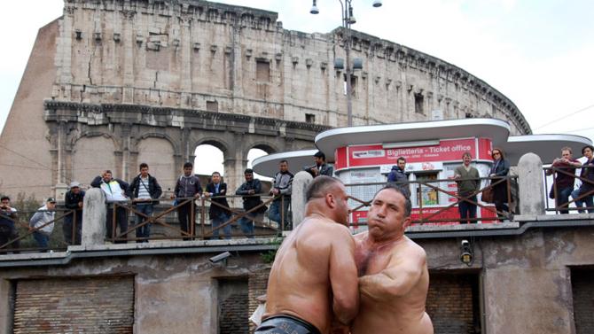 Türkler Romayı Bastı !