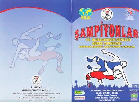 16.Uluslararası Şampiyonlar Turnuvası buünBaşlıyor