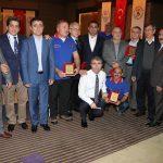 Sekiz değerli  güreş hakemine Antalya'da TGF'nin düzenlediği Seminer'de anlamlı veda,,,