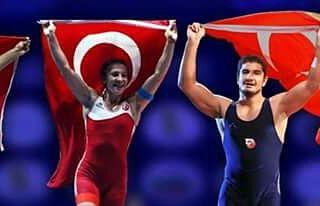 2017'nin son ayında UWW veb sitesinde ilk beşteki Türk güreşçileri